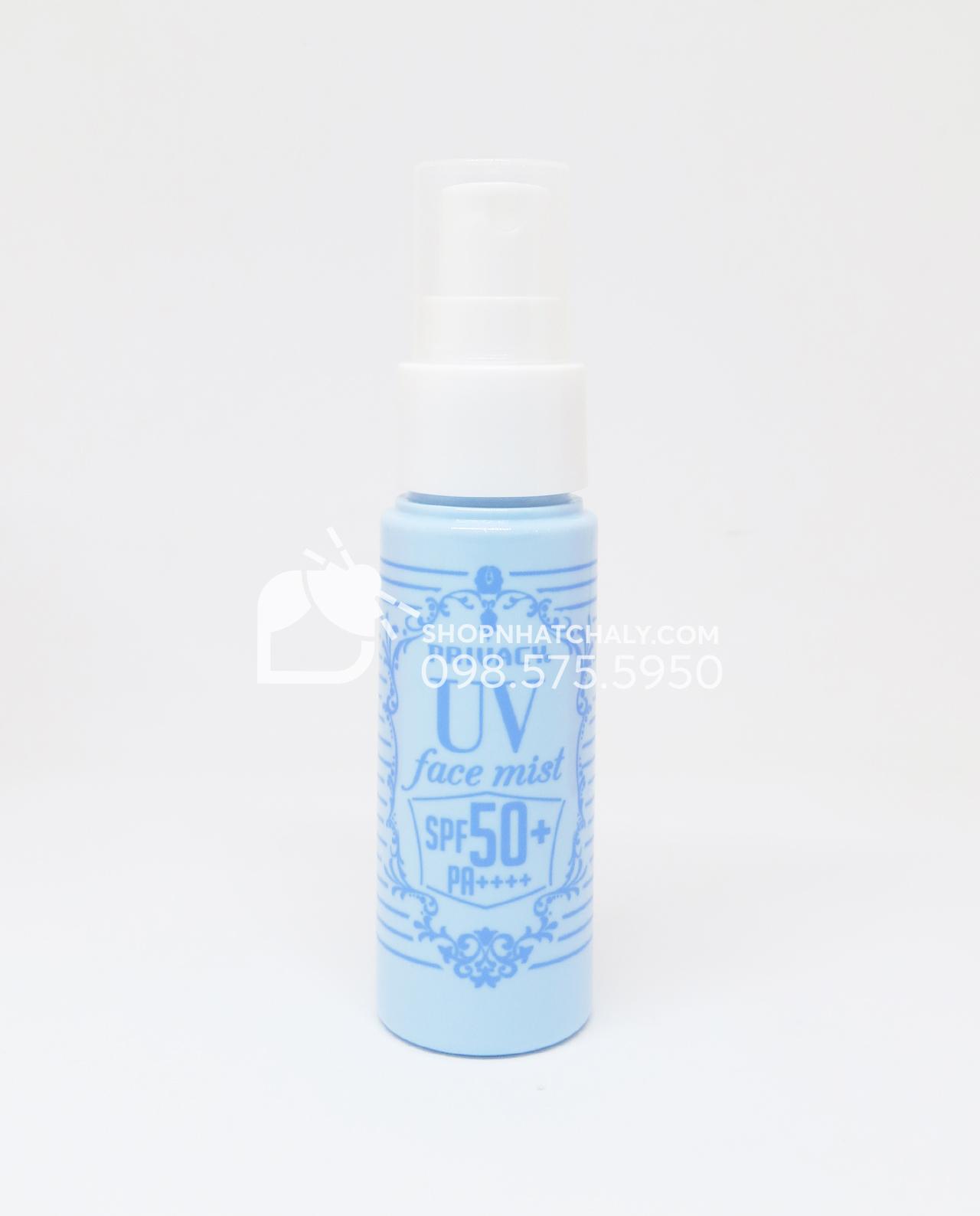 Kem chống nắng dạng xịt cho da mặt và body Privacy UV Face Mist SPF50 Nhật chai 40ml