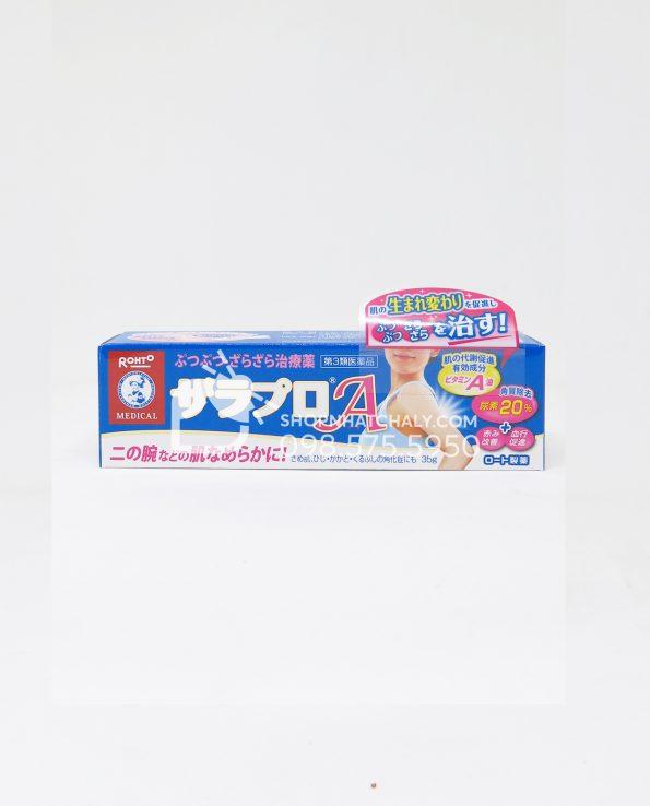 Kem trị viêm nang lông Zaraporo Rohto Nhật 35gr