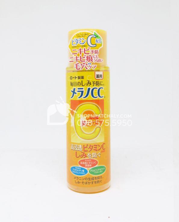 Nước hoa hồng Melano CC Lotion Rohto Nhật