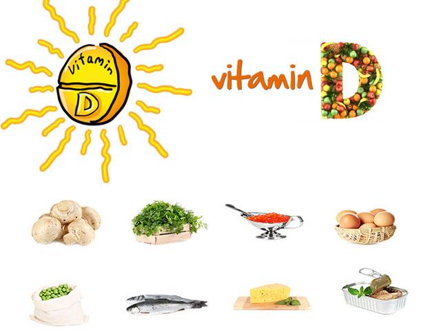 Vitamin D là một trong những vitamin quan trọng giúp giảm các triệu chứng khó chịu của thời kì tiền mãn kinh ở phụ nữ