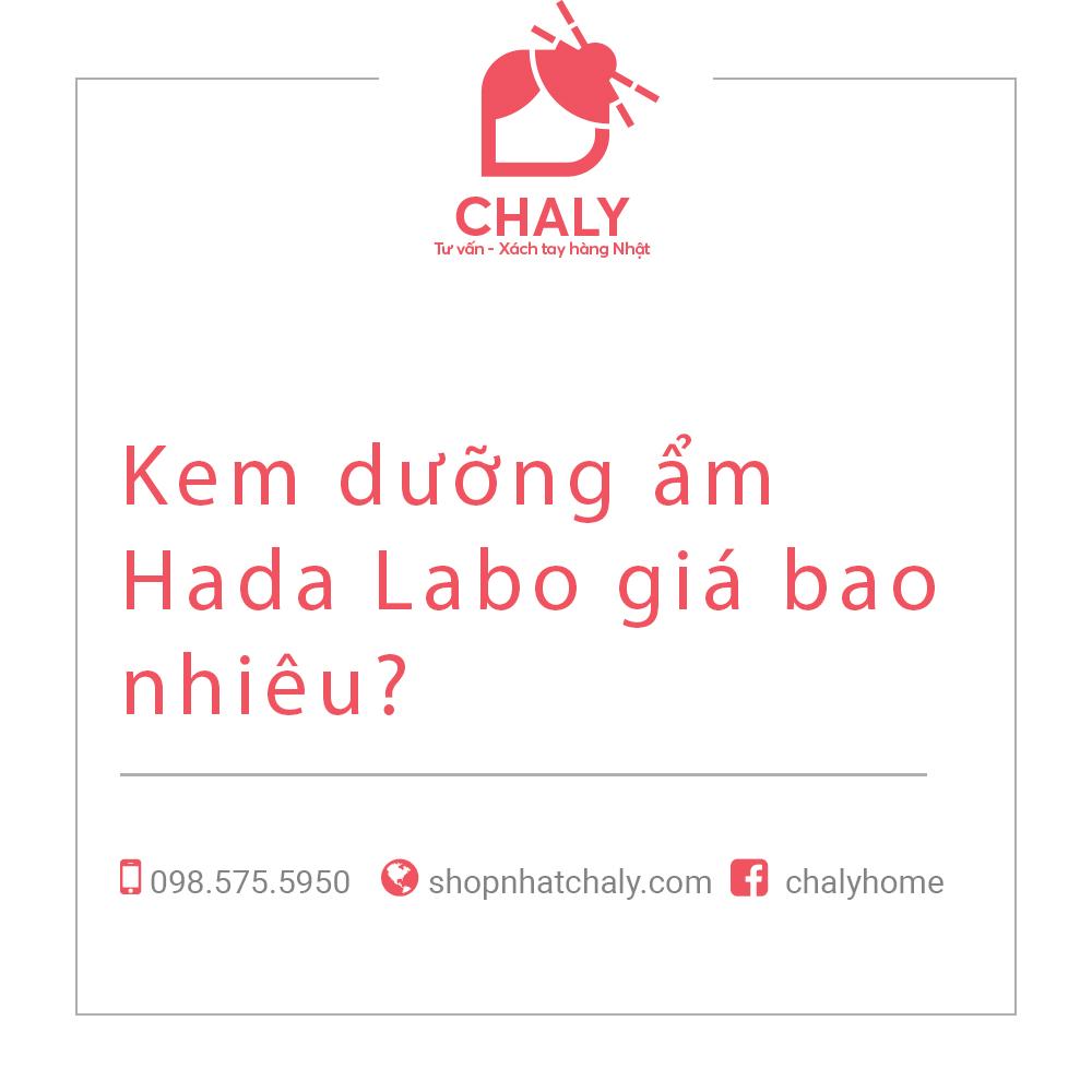 Kem dưỡng ẩm Hada Labo giá bao nhiêu?