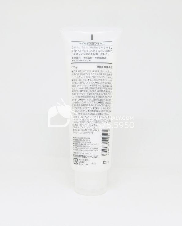 Sữa rửa mặt Muji Face Soap của Nhật Bản - thông tin sản phẩm