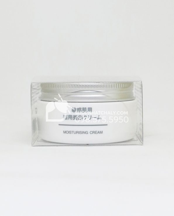 Kem dưỡng trắng cho da nhạy cảm Muji Whitening Cream Nhật Bản
