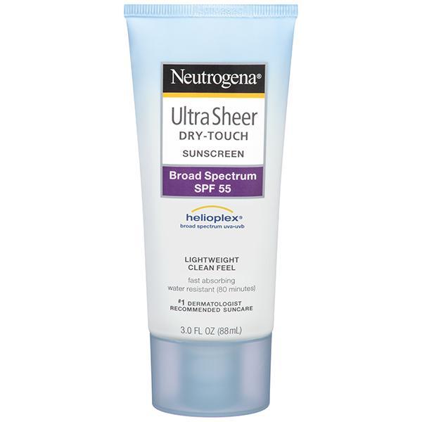 Kem chống nắng Neutrogena có dạng kem, thơm và thẩm thấu rất nhanh không gây bóng dầu hay cảm giác nặng da