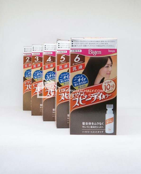 Thuốc nhuộm tóc Bigen Speedy Nhật Bản dạng bình