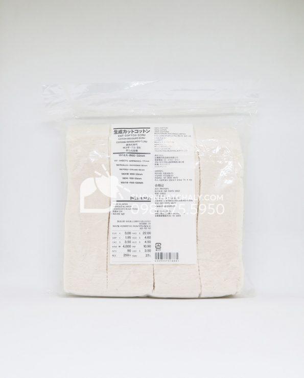 Bông tẩy trang Muji Organic Cotton Nhật Bản 180 miếng
