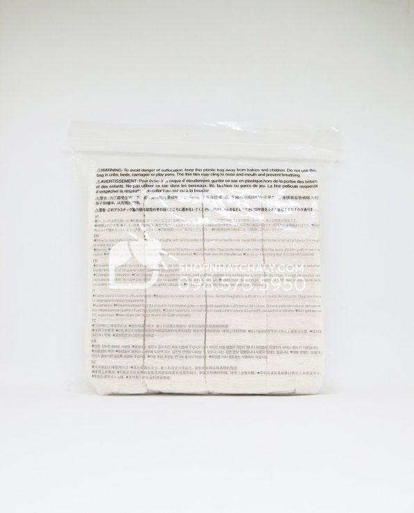 Bông tẩy trang Muji Organic Cotton 180 miếng Nhật Bản - thông tin sản phẩm