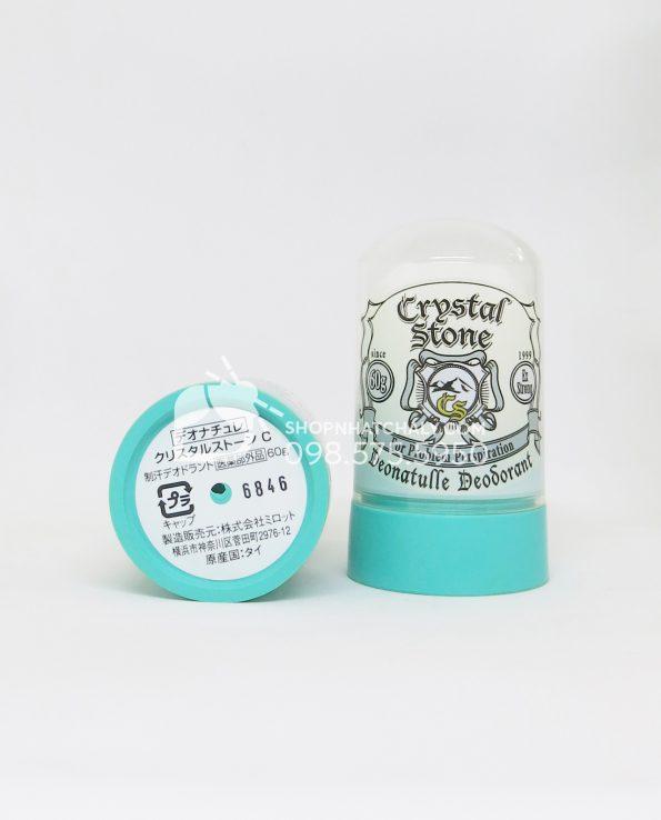 Đá khoáng khử mùi Crystal Stone Nhật Bản 60gr