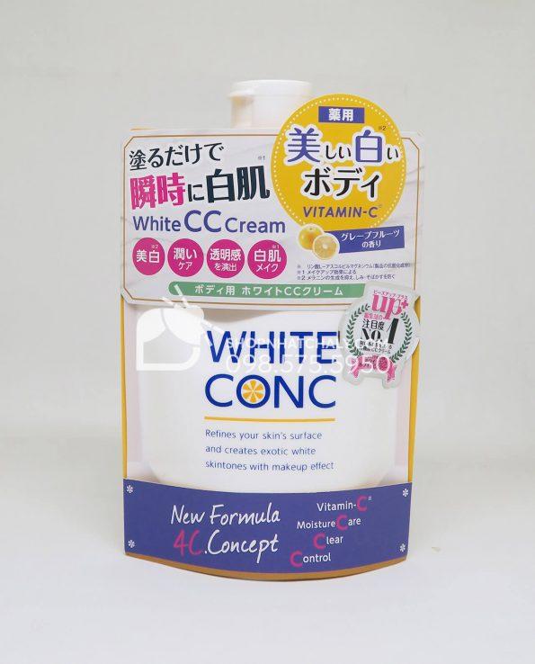Kem makeup body trắng da toàn thân tạm thời White Conc Nhật Bản