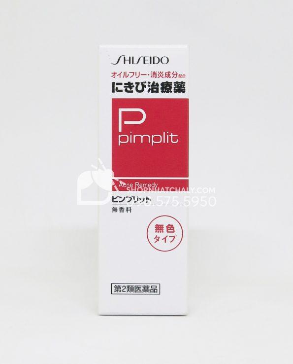 Kem trị mụn Shiseido Pimplit không màu 15gr của Nhật