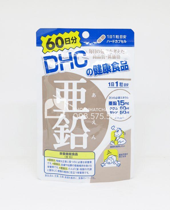 Viên uống bổ sung kẽm DHC Nhật Bản