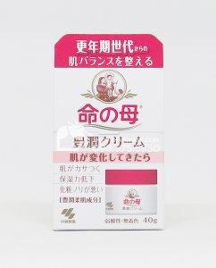 Kem dưỡng ẩm cân bằng chất da cho phụ nữ trung niên Kobayashi Inochi no Haha Nhật Bản