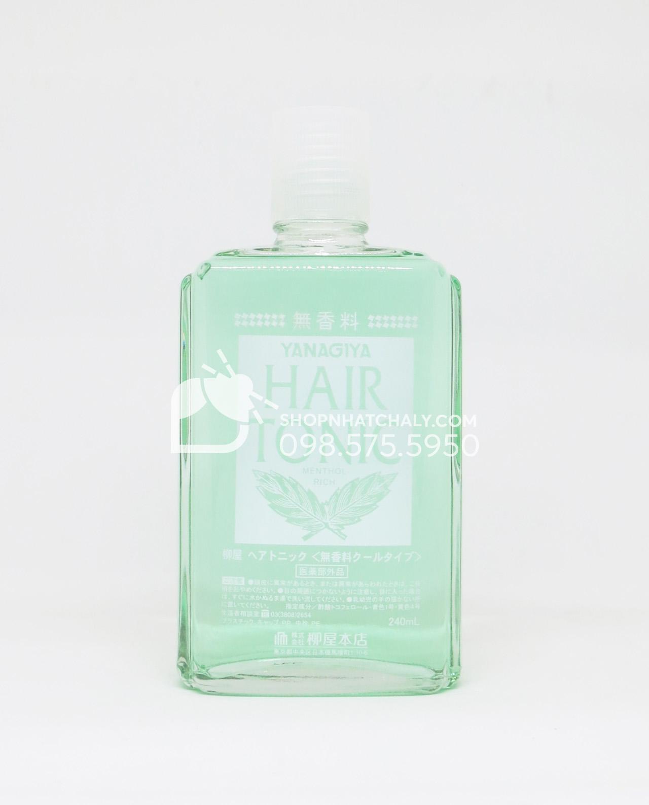 Thuốc chống rụng tóc và kích thích mọc tóc trị hói Nhật Bản Hair Tonic Yanagiya chai 240ml