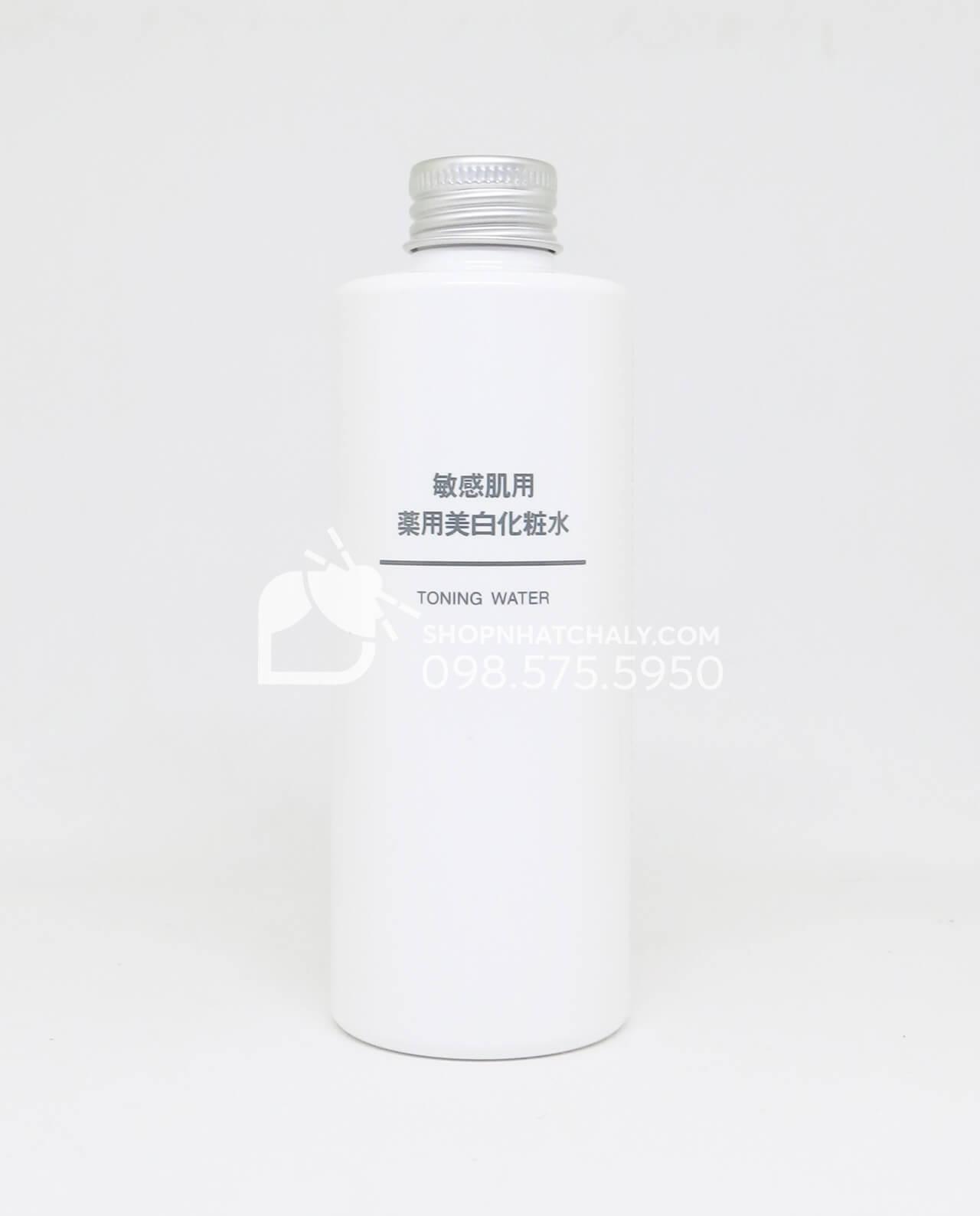 Nước hoa hồng dưỡng trắng cho da nhạy cảm Muji Toning Water Nhật Bản
