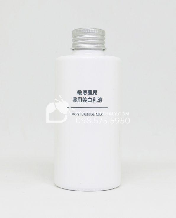 Sữa dưỡng trắng cho da nhạy cảm Muji Moisturising Milk Nhật Bản
