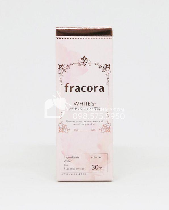 Tinh chất nhau thai ngừa thâm, chống lão hoá Fracora White'st Placenta Extract 30ml