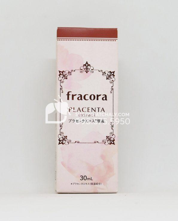 Tinh chất nhau thai ngừa thâm, chống lão hoá Fracora Placenta Extract 30ml mẫu mới 2019