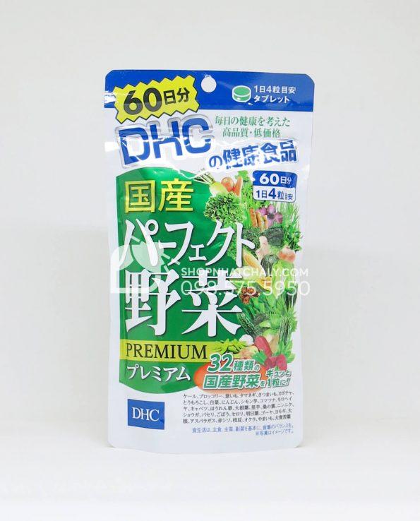 Viên uống rau củ DHC Premium Nhật Bản 60 ngày
