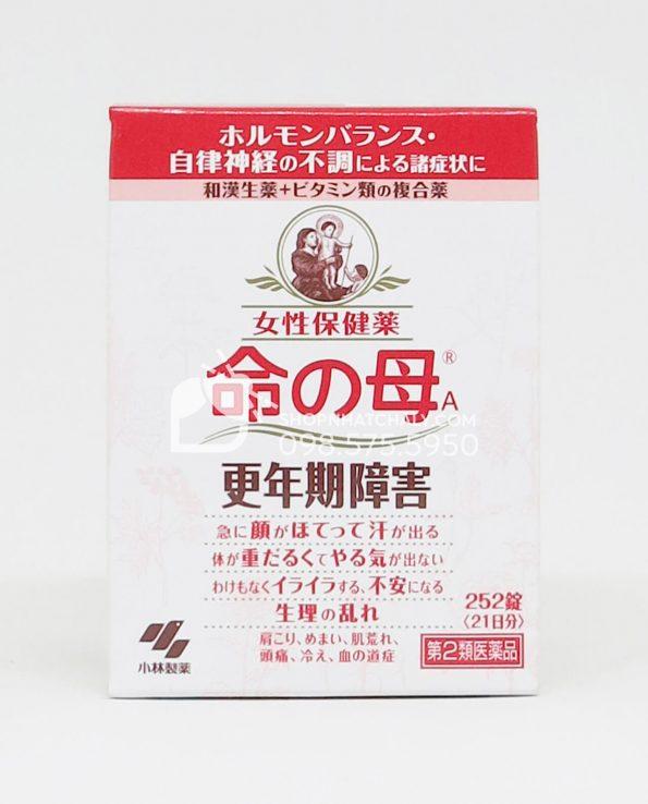 Viên uống tiền mãn kinh Kobayashi Inochi no Haha hộp 252 viên