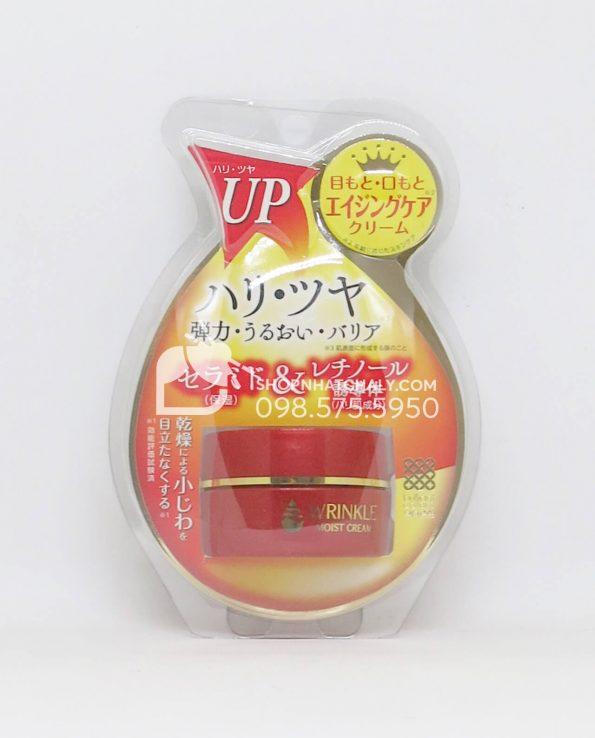 Kem đặc trị xoá nếp nhăn Meishoku Wrinkle Moist Cream Nhật Bản
