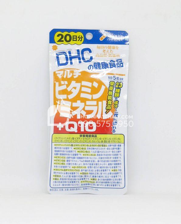 Vitamin tổng hợp kết hợp Q10 chống lão hoá cho người lớn DHC Nhật Bản