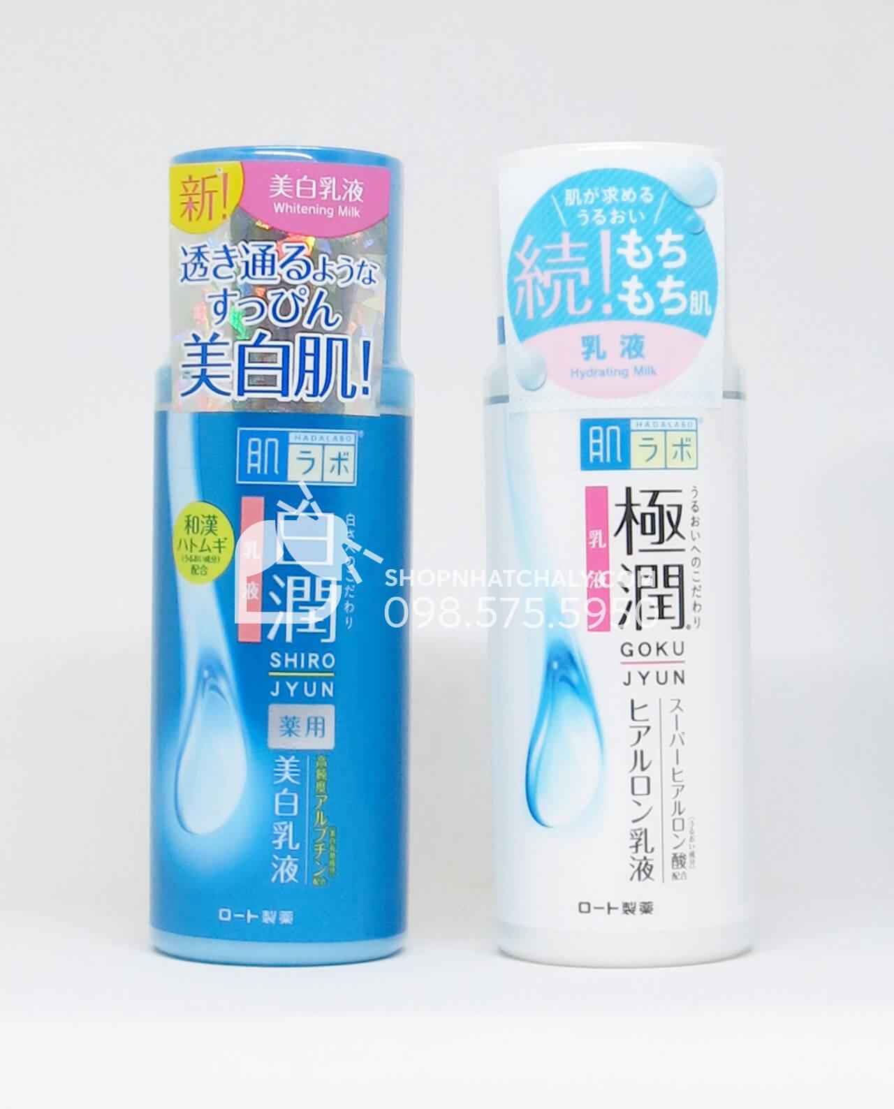 Sữa dưỡng Hada Labo emulsion xách tay Nhật nội địa, cấp ẩm tốt với bạt ngàn thành phần hyaluronic acid giúp da ẩm mịn, mềm mại. Giá thành học sinh sinh viên dễ sử dụng