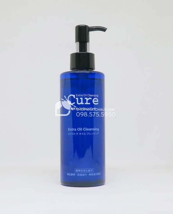 Tẩy trang Cure Extra Oil Cleansing
