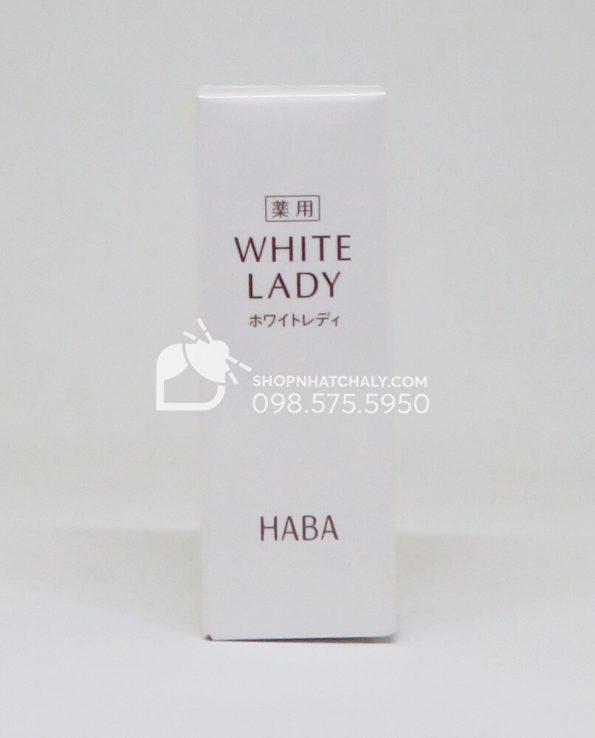 Serum HABA White Lady trị thâm sạm chống lão hoá