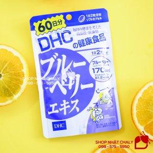 Viên uống bổ mắt Blueberry DHC nội địa Nhật