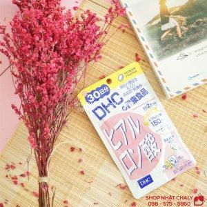 Viên uống cấp nước DHC Hyaluronic nội địa Nhật