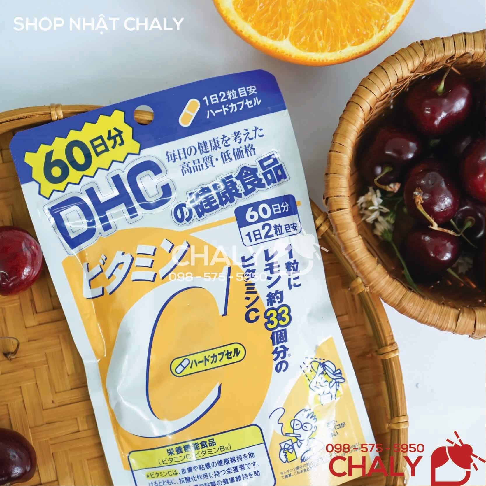 Viên uống cc melano làm trắng da của DHC Nhật Bản loại 120 viên 60 ngày
