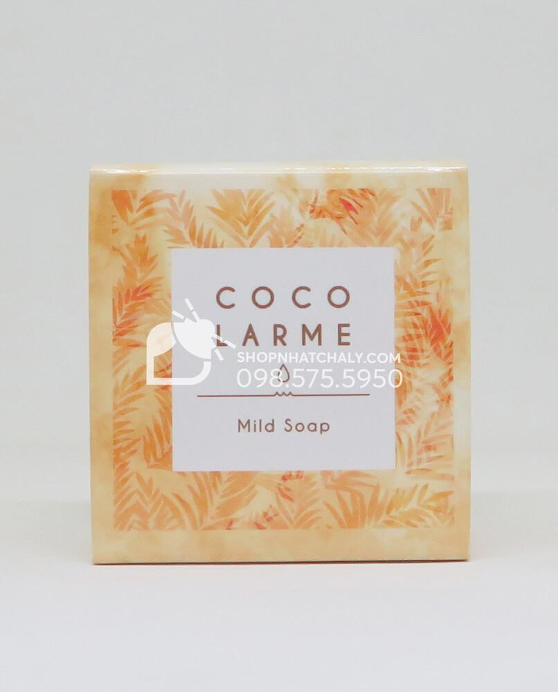 Xà bông rửa mặt chuyên se khít lỗ chân lông Cocolarme siêu dịu nhẹ