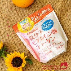 Bột Collagen Hyaluronic Acid Orihiro 11000mg nội địa Nhật Bản