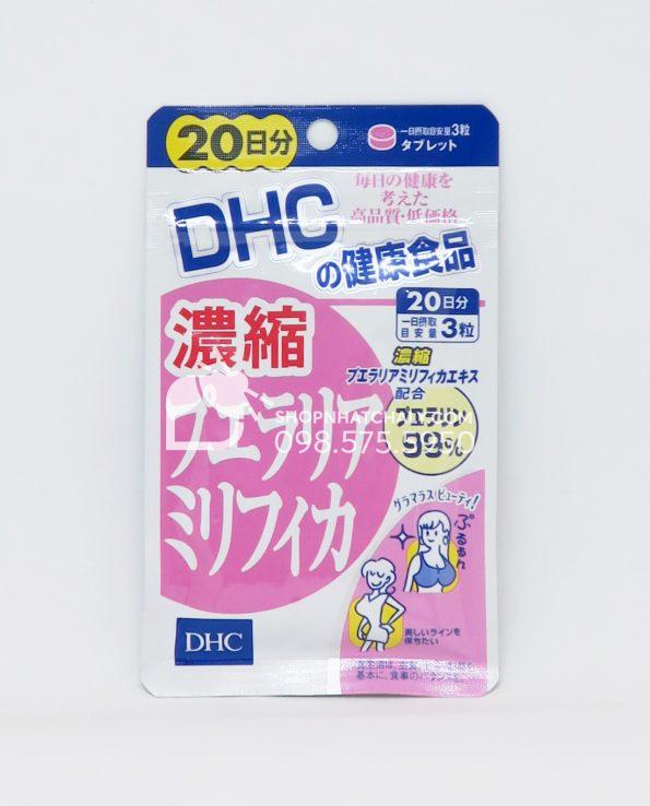 Thuốc nở ngực DHC Pueraria 60 viên tăng kích thước vòng 1