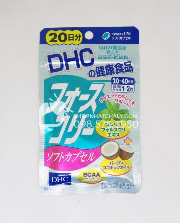 Viên uống giảm cân dầu dừa DHC Forskolin Nhật