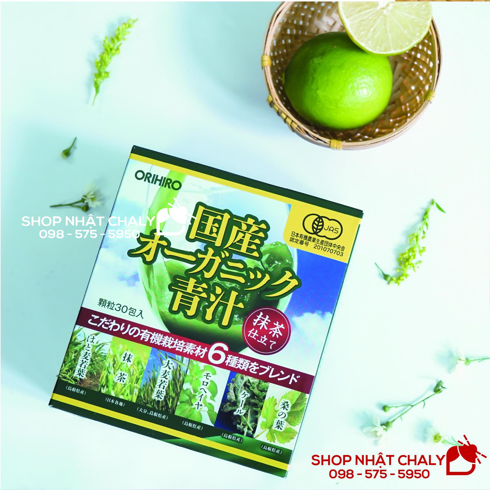 Hộp bột rau xanh trái cây aojiru của Nhật là phương thức bổ sung chất xơ, các chất chống oxy hoá nổi tiếng nhiều đời nay của người dân Nhật Bản