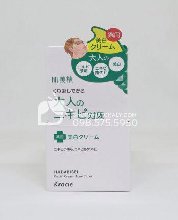 kem-duong-danh-cho-da-mun-va-tham-kracie-hadabisei-acne-care-facial-cream