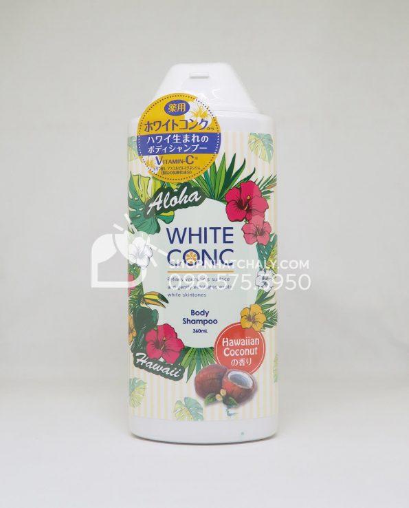 Sữa tắm trắng da toàn thân White Conc Body Shampoo – bản limited hè 2018