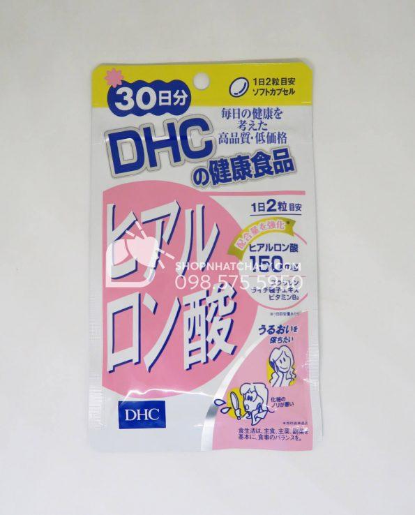 Viên uống cấp nước Hyaluronic Acid DHC Nhật