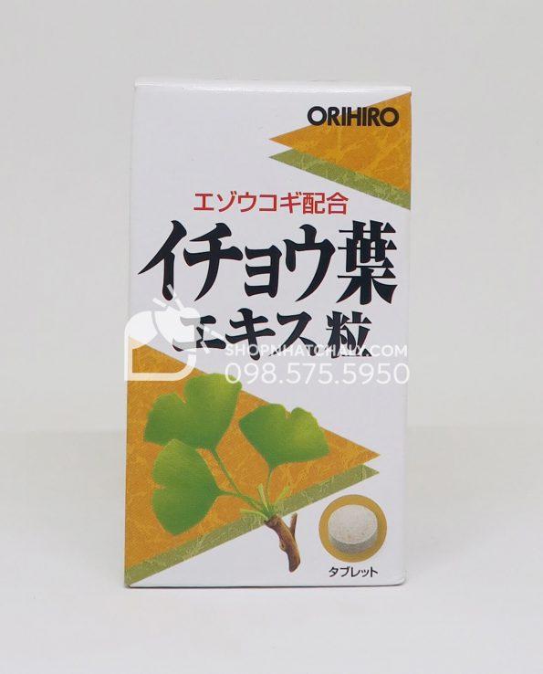 Thuốc bổ não Ginkgo Biloba Orihiro Nhật Bản 240 viên