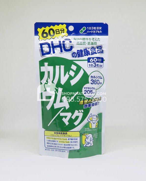 Viên bổ sung Calcium DHC 60 ngày