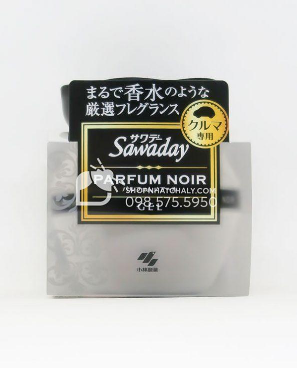 Sap thom o to cao cap Sawaday Parfum Noir Nhat mau moi 2021