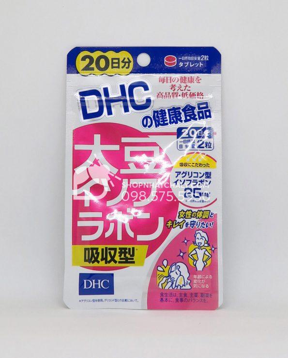 Viên uống mầm đậu nành DHC Isoflavone Nhật 40 viên 20 ngày