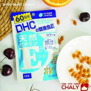 Viên uống Vitamin E của DHC cung cấp 301.5mg Vitamin E thiên nhiên Chống oxy hoá tốt cho da, tóc và toàn thân, được người Nhật ưa chuộng
