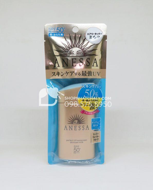 Kem chống nắng Anessa Perfect UV Sunscreen Skincare Milk Shiseido