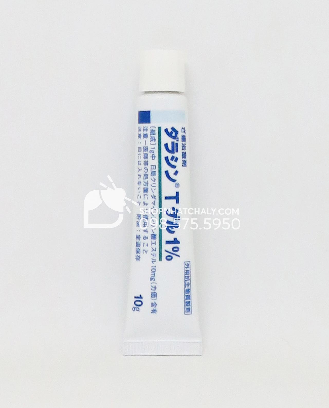 Kem đặc trị mụn Dalacin T Gel 1% Nhật Bản