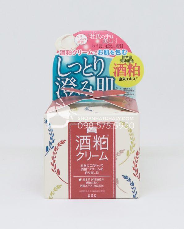Kem dưỡng sake PDC Wafood Made kiềm dầu sạch mụn