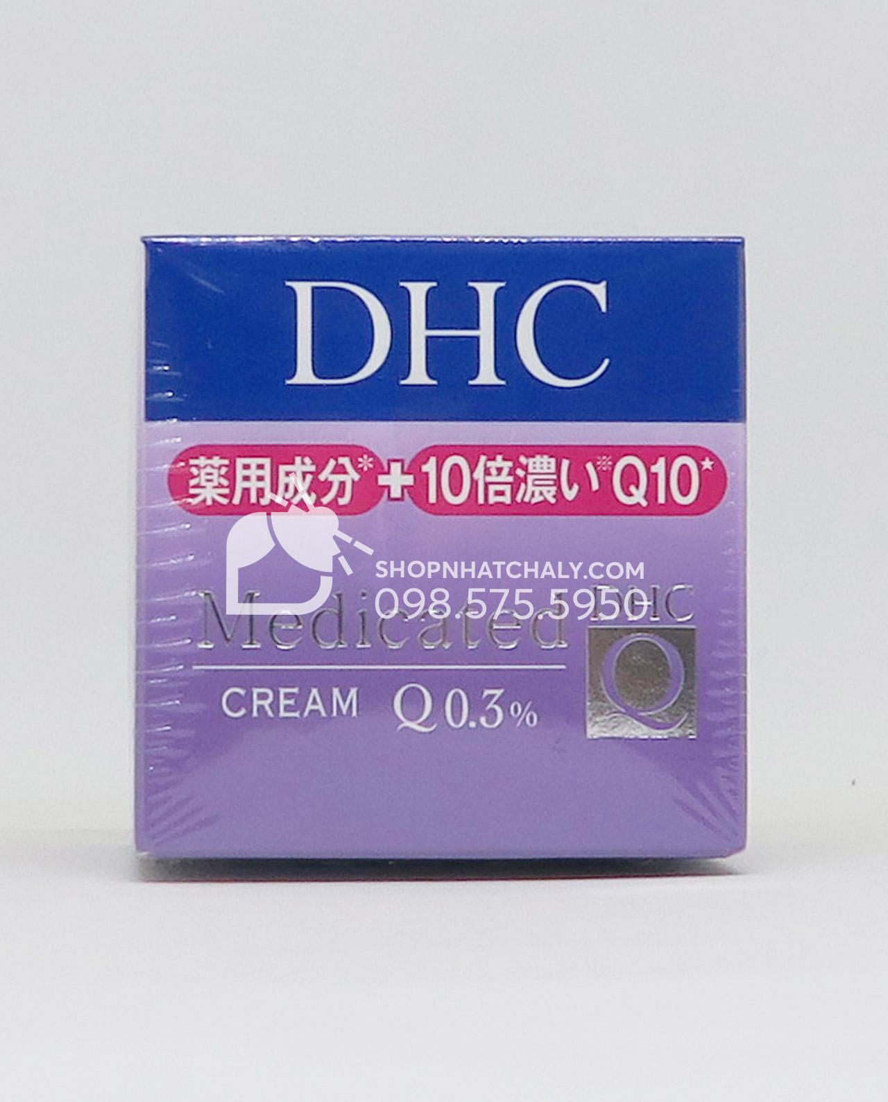 Kem siêu chống lão hoá DHC Q10 - Collagen - Placenta Medicated Cream