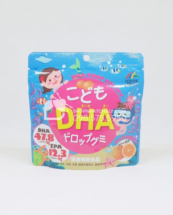 Kẹo bổ sung DHA cho bé Unimat Riken Nhật