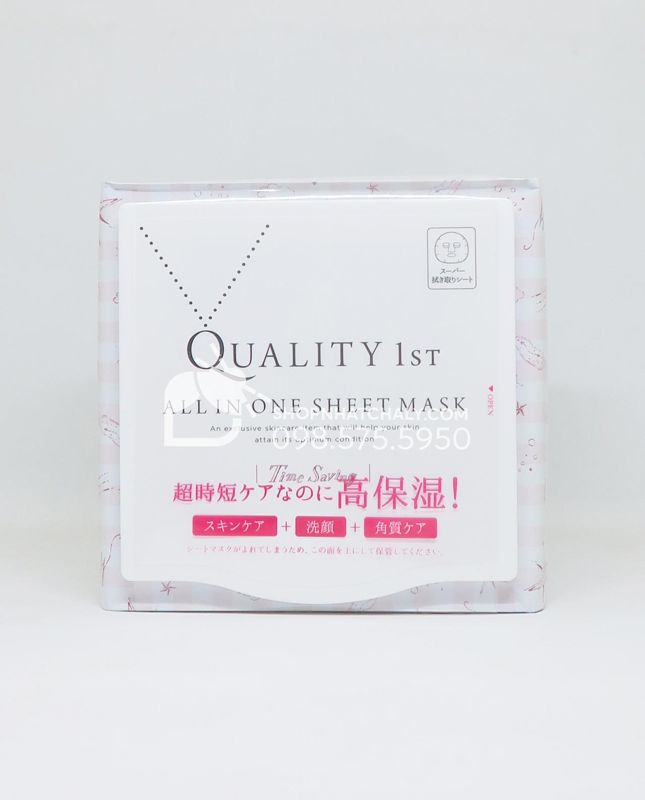 Mặt nạ buổi sáng Quality 1st Speedy Skin Care Morning Nhật Bản